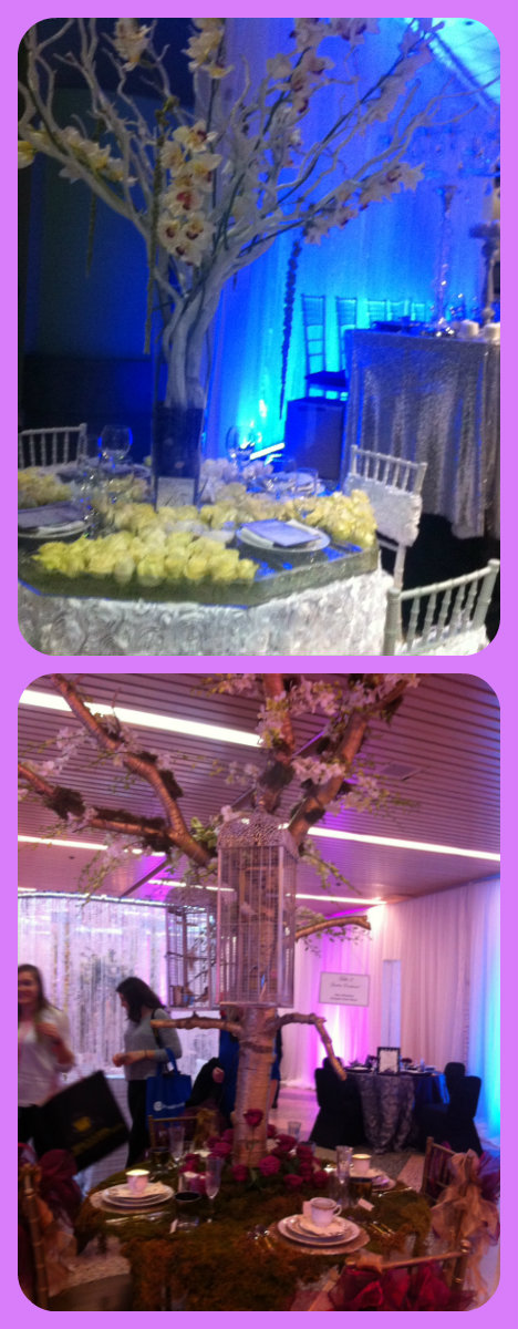 Centrepieces featured the Wonderful Wedding Show in Winnipeg, Manitoba 2015