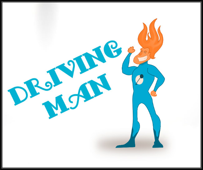 "Poster of ""Driving Man"" a blog about sending mixed signals and telling people what we really need"
