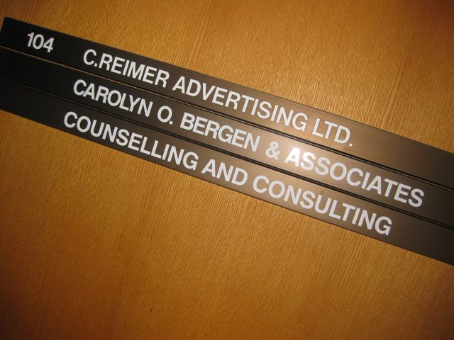 Bergen and Associates shares counselling space at 2265 Pembina Highway with Reimer Advertising