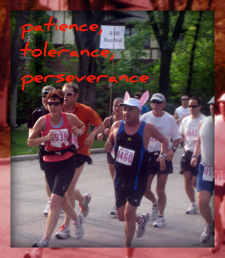 marathon tolerance