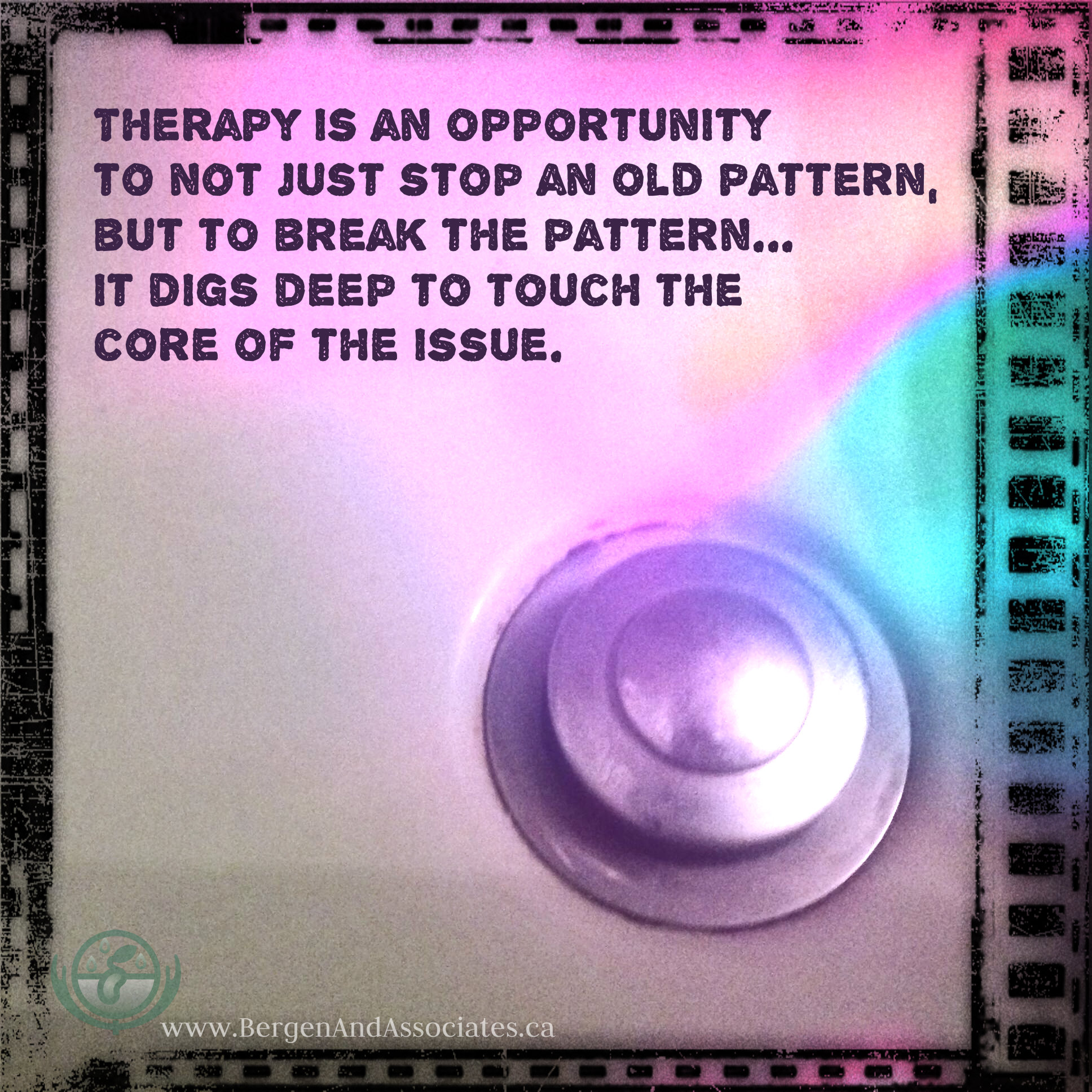 therapy breaks old patterns