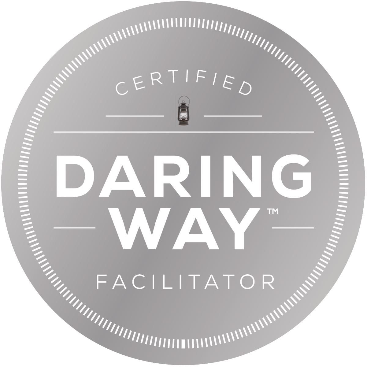 Daring Way Facilitator Seal