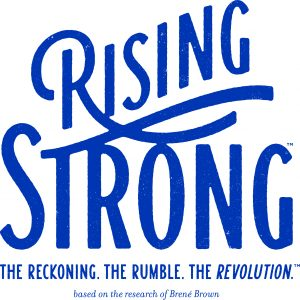 Rising Strong Logo for course Rising Strong based on the research of Dr. Brené Brown