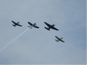 missing man airplane formation