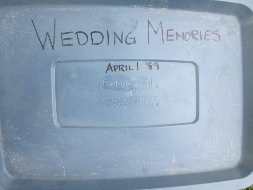 The wedding tub of Carolyn Bergen