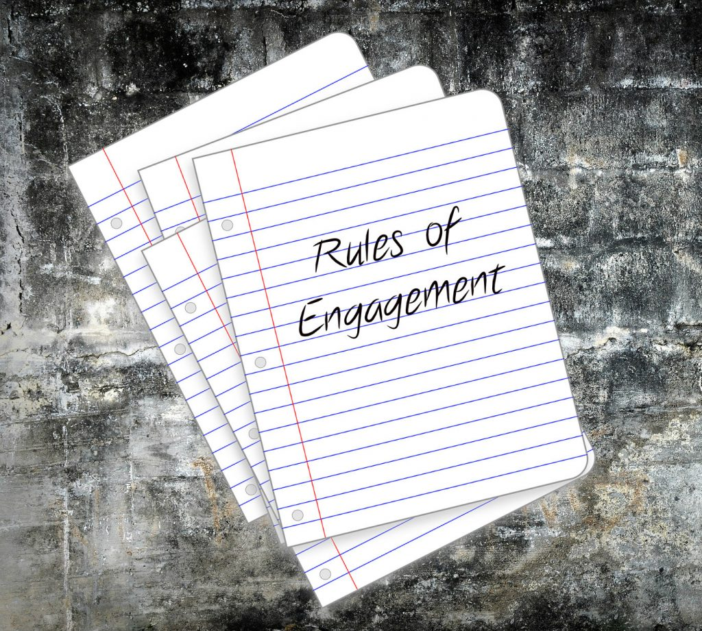 Rules of Engagement on loose leaf