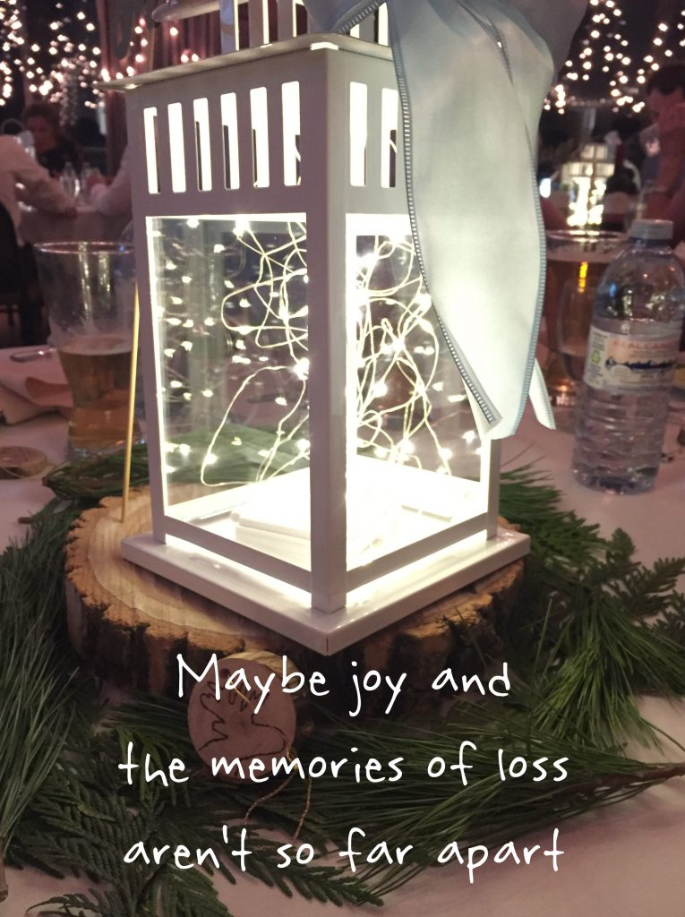 A hole in the celebration: Maybe joy and the memories of loss aren't so far apart