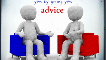 Dear client: We don't give advice