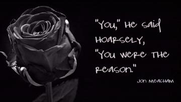 """You were the reason""-George H.W. Bush"