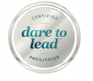 Dare to Lead certified facilitator badge