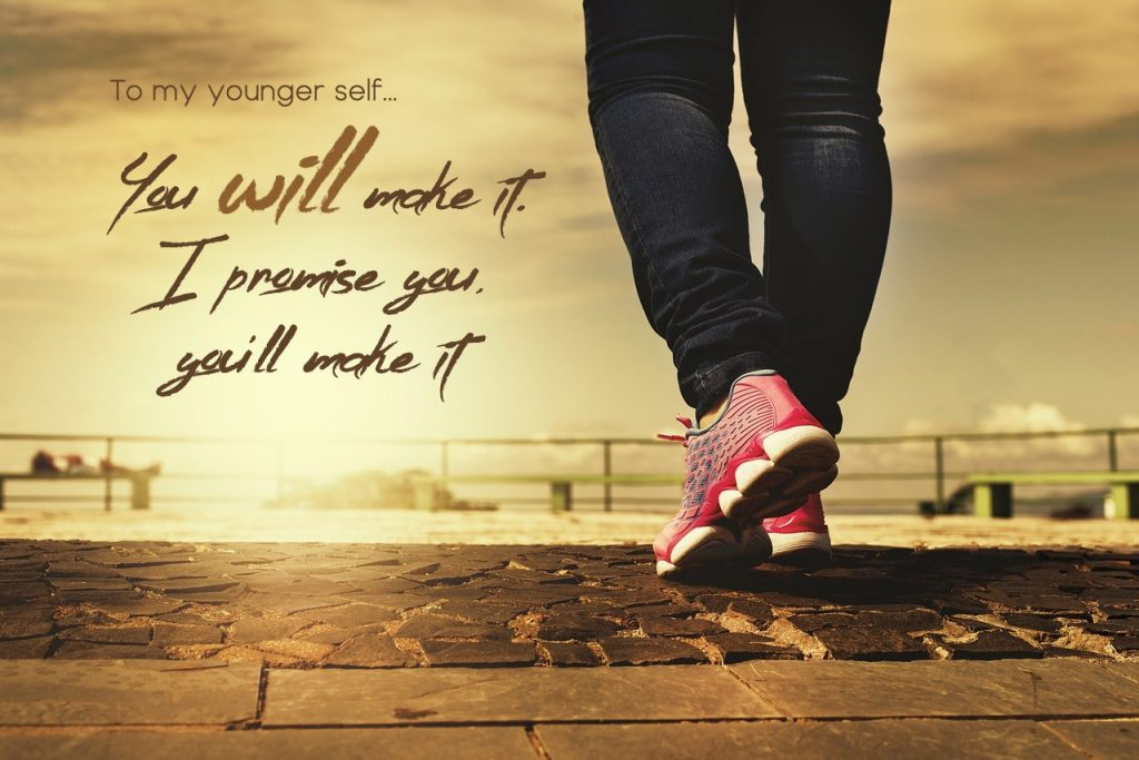 You WILL make it. I promise you, you will make it. On blog to the bride who will eventually get divorced
