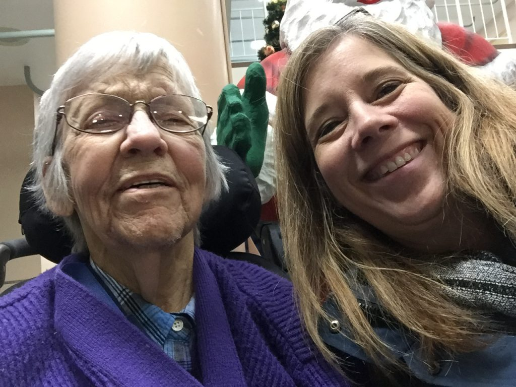 Selma and Carolyn Klassen