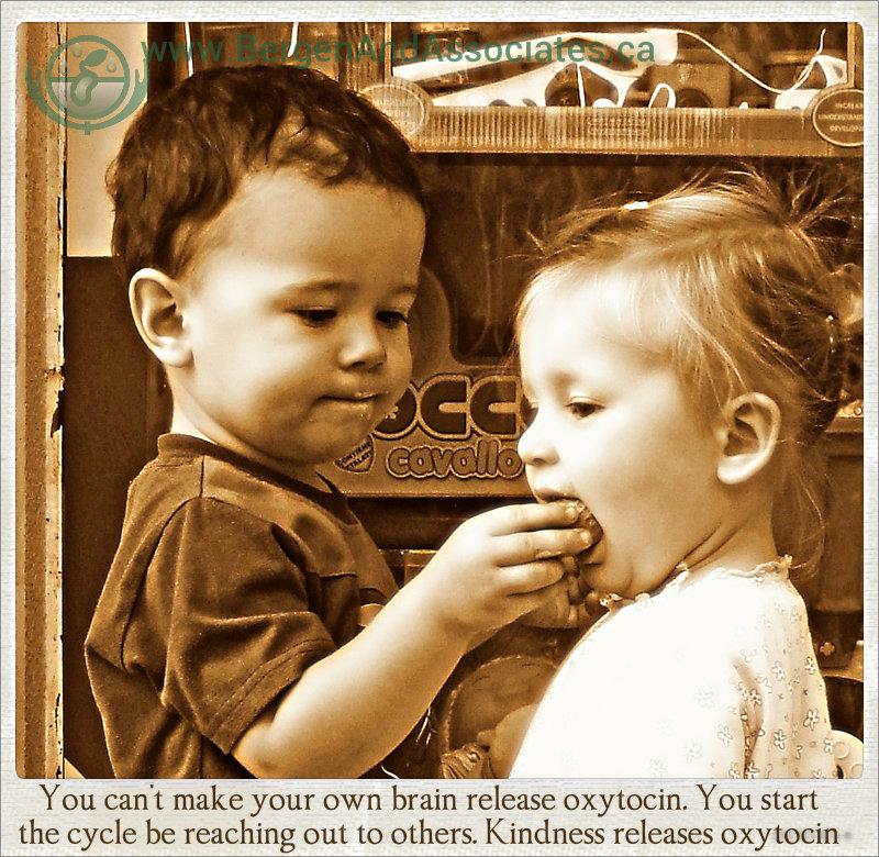 Kindness releases oxytocin