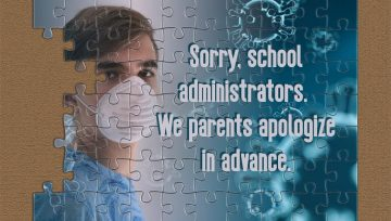 Sorry, in advance, school administrator!
