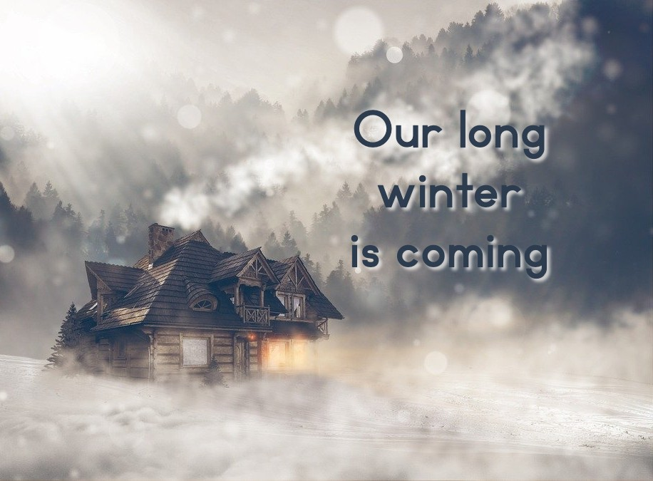 Our long winter is coming on article about what Laura Ingalls Wilder can teach us about a COVID-19 winter