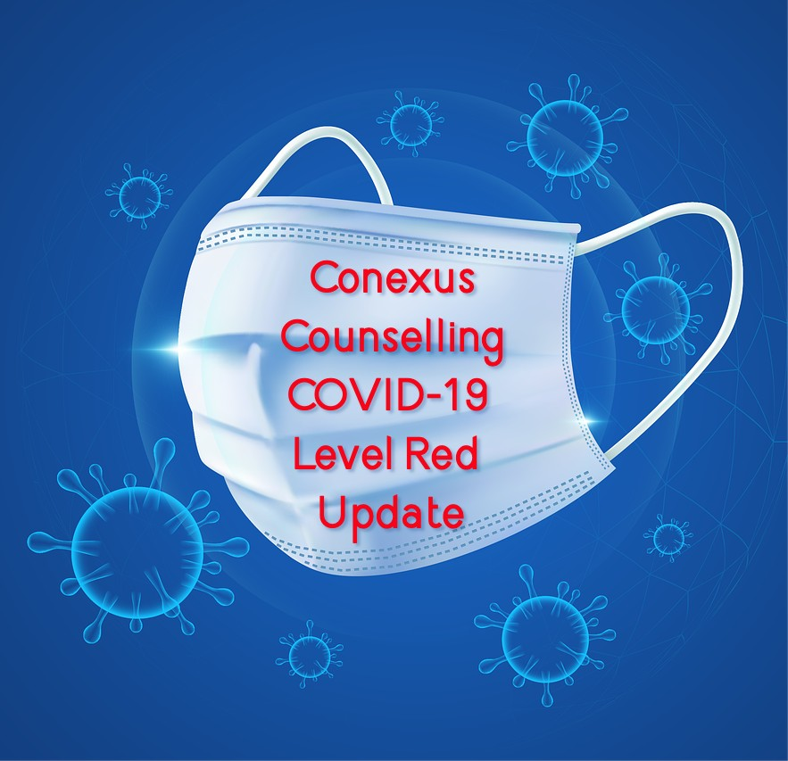 Conexus Counselling COVID-19 Level REd update November 2020