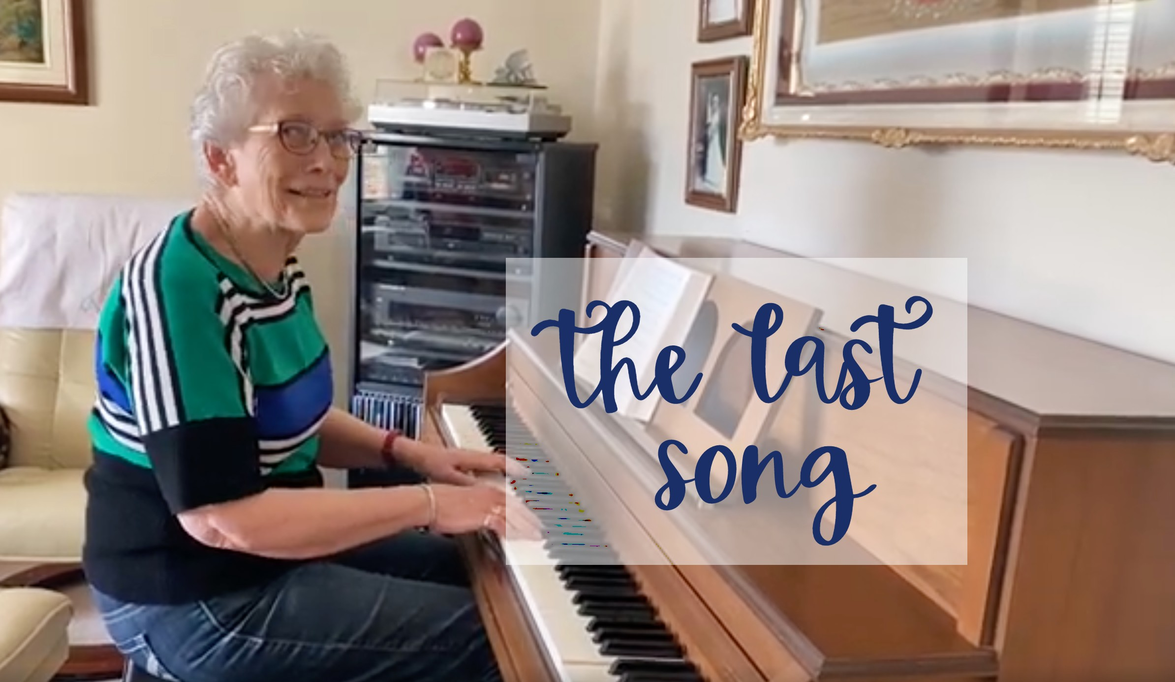The last song. The day the piano was sold